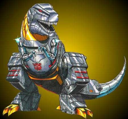 people liking Dinosuars Grimlock2