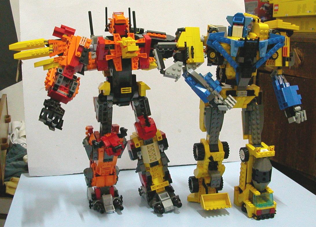 积木搭建图片_乐高(LEGO)积木搭建起来的变形金刚最强组合——冲云霄 - 机器 ...